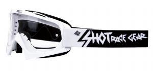 SHOT Creed White Goggles | Motorcycle Clothing